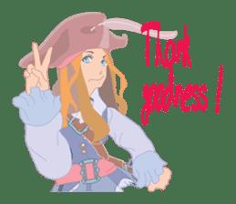 Mary Pirates_W sticker #7562724