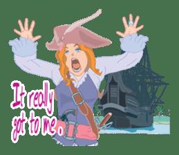 Mary Pirates_W sticker #7562726