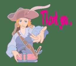 Mary Pirates_W sticker #7562731