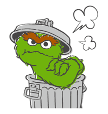 Sesame Street sticker #20536
