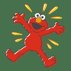 Sesame Street sticker #20538