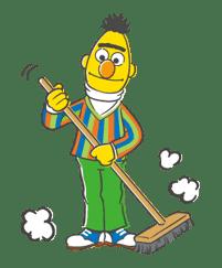 Sesame Street sticker #20543