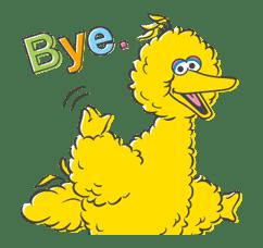 Sesame Street sticker #20547