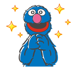 Sesame Street sticker #20550