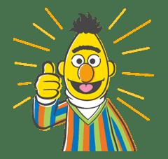 Sesame Street sticker #20551