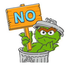 Sesame Street sticker #20553