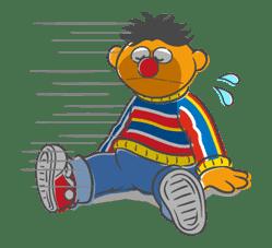 Sesame Street sticker #20556