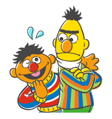 Sesame Street sticker #20559