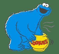 Sesame Street sticker #20562