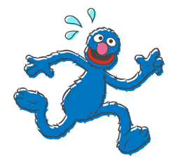 Sesame Street sticker #20564