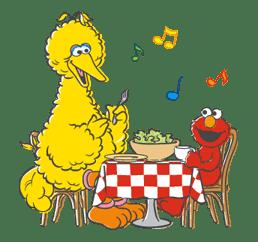 Sesame Street sticker #20567