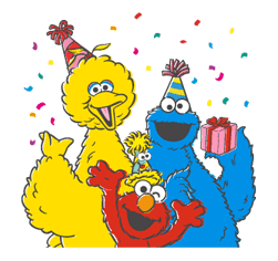 Sesame Street sticker #20574