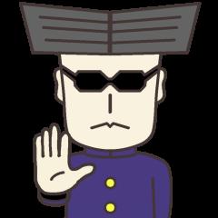 Serious young man 2(No character ver)