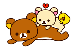 Rilakkuma: Good Friends sticker #21819
