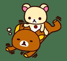 Rilakkuma: Good Friends sticker #21820