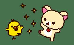 Rilakkuma: Good Friends sticker #21821