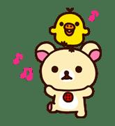Rilakkuma: Good Friends sticker #21828