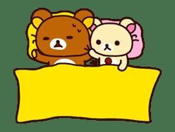 Rilakkuma: Good Friends sticker #21835