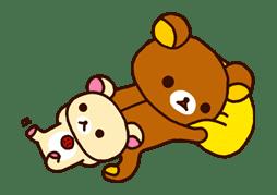 Rilakkuma: Good Friends sticker #21836