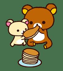 Rilakkuma: Good Friends sticker #21841