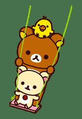 Rilakkuma: Good Friends sticker #21857