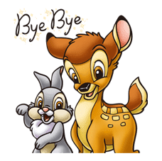 Bambi sticker #22577