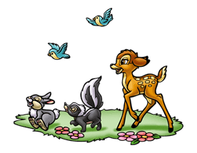 Bambi sticker #22593