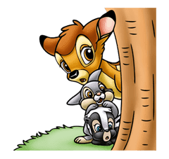 Bambi sticker #22606