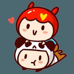 Miss Bunny & WuLa Bear's life