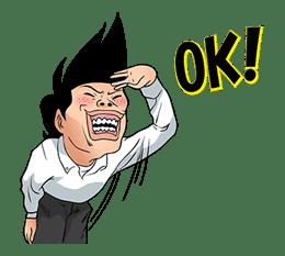 Ike! Inachu Takkyu-bu: Best Gags Edition sticker #694141