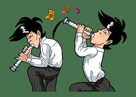 Ike! Inachu Takkyu-bu: Best Gags Edition sticker #694149