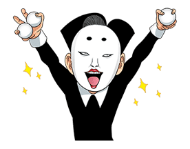 Ike! Inachu Takkyu-bu: Best Gags Edition sticker #694154
