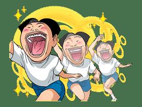 Ike! Inachu Takkyu-bu: Best Gags Edition sticker #694157