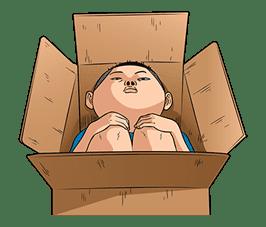 Ike! Inachu Takkyu-bu: Best Gags Edition sticker #694175