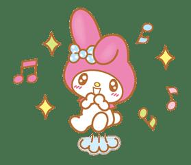 My Melody (Lovely Days ver.) sticker #17278