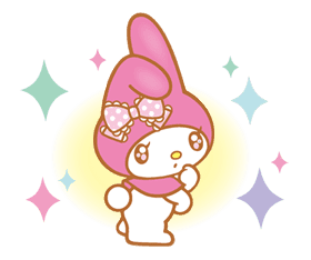My Melody (Lovely Days ver.) sticker #17280