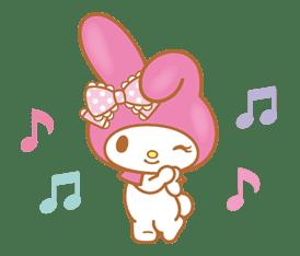My Melody (Lovely Days ver.) sticker #17294