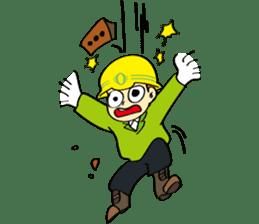 SAFETY MAN 3 sticker #2540609