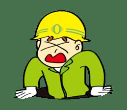SAFETY MAN 3 sticker #2540613