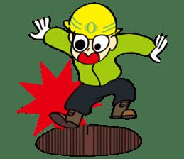 SAFETY MAN 3 sticker #2540615