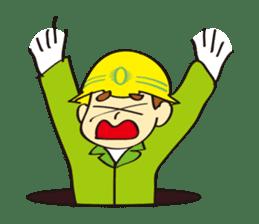 SAFETY MAN 3 sticker #2540616