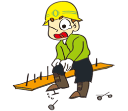 SAFETY MAN 3 sticker #2540626