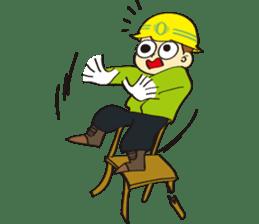 SAFETY MAN 3 sticker #2540630