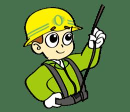 SAFETY MAN 2 sticker #2882616