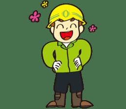 SAFETY MAN 2 sticker #2882634