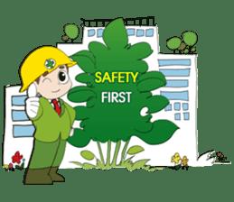 SAFETY MAN 2 sticker #2882638