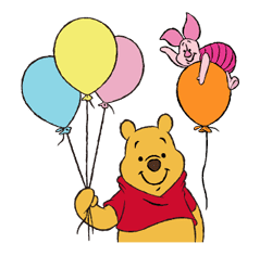 Pooh and Friends sticker #18007