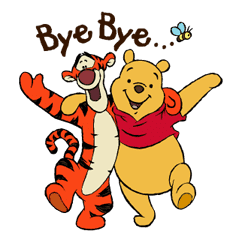 Pooh and Friends sticker #18022