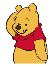 Pooh and Friends sticker #18034