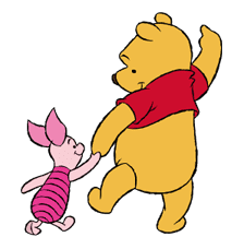 Pooh and Friends sticker #18035